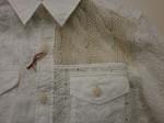 今年は白!!ナッソーズの白いシャツ。