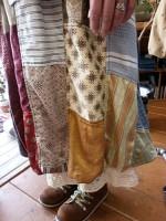 GOWESTリメイクパッチワークバルーンスカート